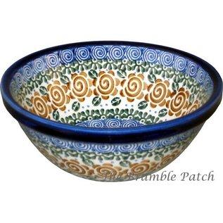 Ceramika Artystyczna Kitchen Bowl Size 1 Lady Godiva Auburn
