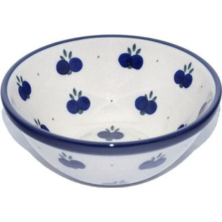 Ceramika Artystyczna Kitchen Bowl Size 1 Double Blueberry