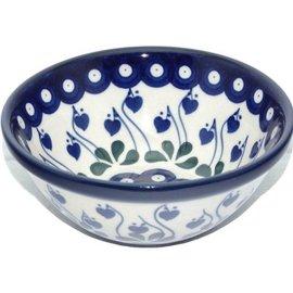 Ceramika Artystyczna Kitchen Bowl Size 1 Royal Hanging Hearts
