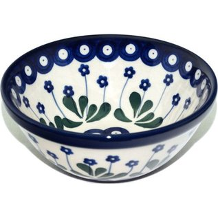 Ceramika Artystyczna Kitchen Bowl Size 1 Royal Forget Me Not