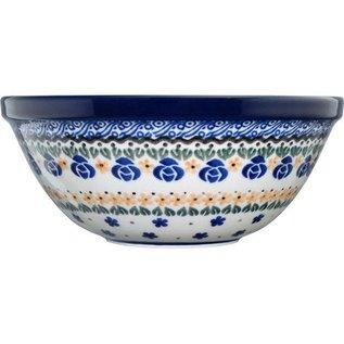 Ceramika Artystyczna Kitchen Bowl Size 1 Sweetheart Garland