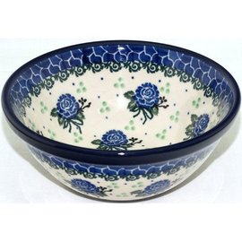 Ceramika Artystyczna Kitchen Bowl Size 1 Flora Blue
