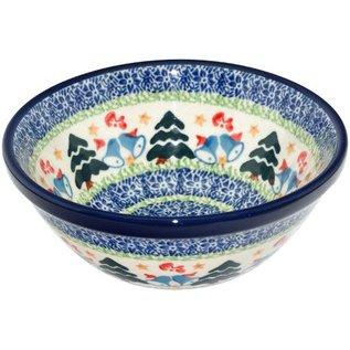 Ceramika Artystyczna Kitchen Bowl Size 2 Winter Wonderland
