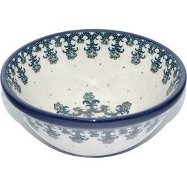 Ceramika Artystyczna Kitchen Bowl Size 2 Lacework Green