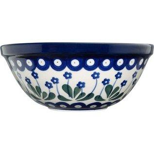 Ceramika Artystyczna Kitchen Bowl Size 2 Royal Forget Me Not