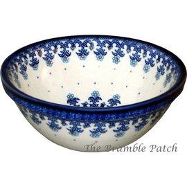 Ceramika Artystyczna Kitchen Bowl Size 2 Lacework Blue