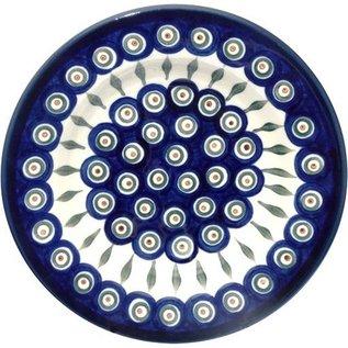 Ceramika Artystyczna Pasta Bowl Royal Peacock