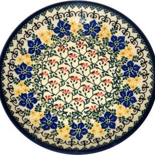 Ceramika Artystyczna Dinner Plate Charlotte's Garden