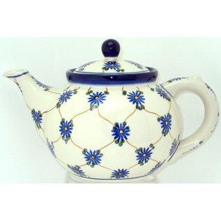 Ceramika Artystyczna Teapot Size 3 Daisy Chain N