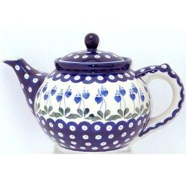 Ceramika Artystyczna Teapot Size 3 Royal Hanging Hearts