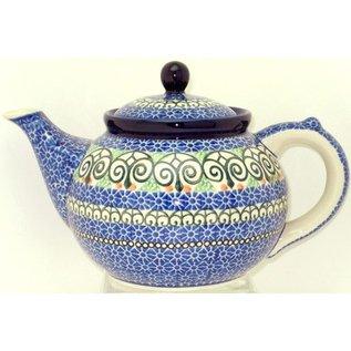 Ceramika Artystyczna Teapot Size 3 Stained Glass