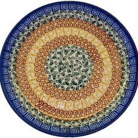 Ceramika Artystyczna Luncheon Plate Autumn