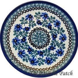 Ceramika Artystyczna Luncheon Plate Periwinkle