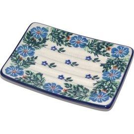 Ceramika Artystyczna Rectangular Soap Dish Angelica