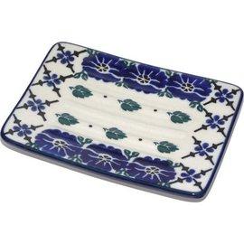 Ceramika Artystyczna Rectangular Soap Dish Rosie's Choice