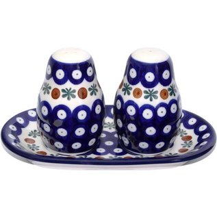 Ceramika Artystyczna Salt & Pepper Set Royal Cranberry