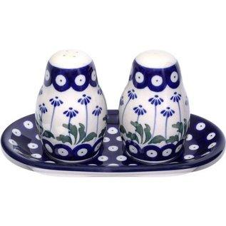 Ceramika Artystyczna Salt & Pepper Set Royal Daisies