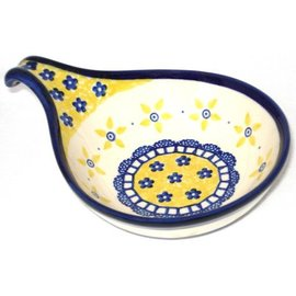 Ceramika Artystyczna Spoon Rest Size 2 Soho Garden
