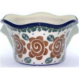 Ceramika Artystyczna Votive Holder Lady Godiva Auburn
