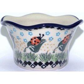 Ceramika Artystyczna Votive Holder Ladybug
