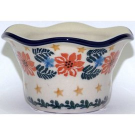 Ceramika Artystyczna Votive Holder Winter Celebration