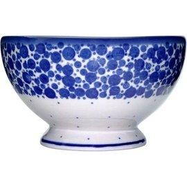 Ceramika Artystyczna Pedestal Bowl Size 1 Bubbles