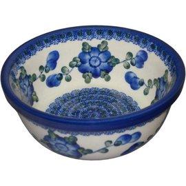 Ceramika Artystyczna Modern Bowl Size 2 Blue Rose
