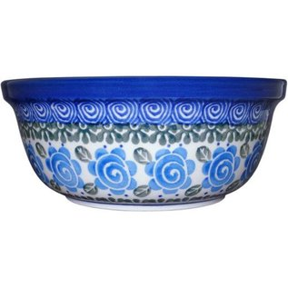 Ceramika Artystyczna Modern Bowl Size 2 Lady Godiva Blue