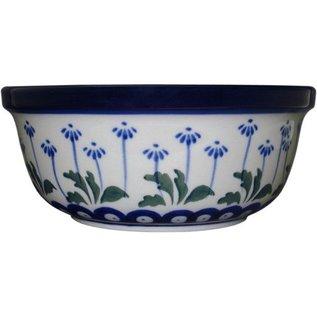 Ceramika Artystyczna Modern Bowl Size 2 Royal Daisies