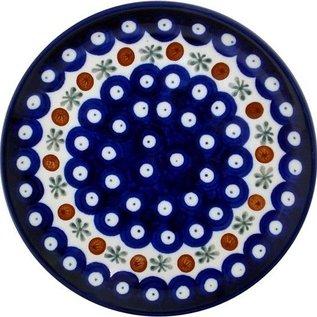 Ceramika Artystyczna Bread & Butter Plate Royal Cranberry