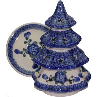 Ceramika Artystyczna Tree Size 3 Blue Rose