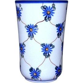 Ceramika Artystyczna Tumbler Medium Daisy Chain