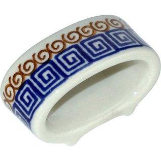 Ceramika Artystyczna Napkin Ring Autumn