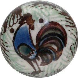 Ceramika Artystyczna Drawer Pull Rooster (Chanticleer) Signature