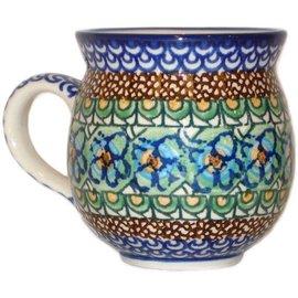 Ceramika Artystyczna Bubble Cup Medium Cottage Green Signature 3.5