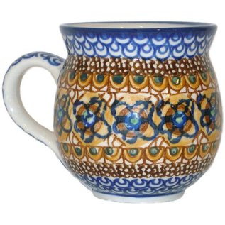 Ceramika Artystyczna Bubble Cup Medium Cottage Amber Signature 3.5