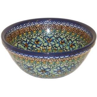Ceramika Artystyczna Kitchen Bowl Size 2 Cottage Green Signature 3.5
