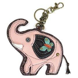 Coin Purse Key Fob Elephant