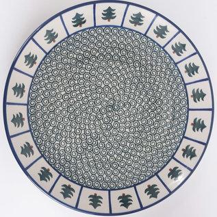 Ceramika Artystyczna Dinner Plate Evergreen