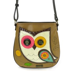 Crossbody Owl Brown