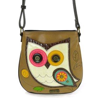 Crossbody Owl Brown