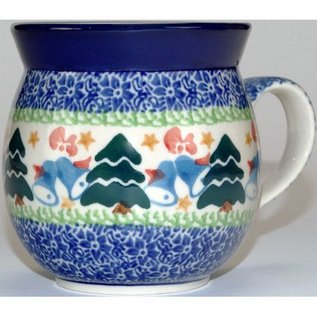 Ceramika Artystyczna Bubble Cup Small Winter Wonderland