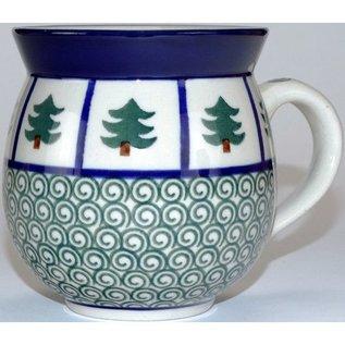 Ceramika Artystyczna Bubble Cup Medium Evergreen