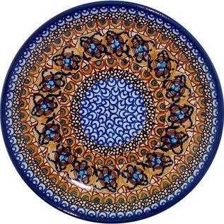 Ceramika Artystyczna Luncheon Plate Cottage Amber Signature 3.5