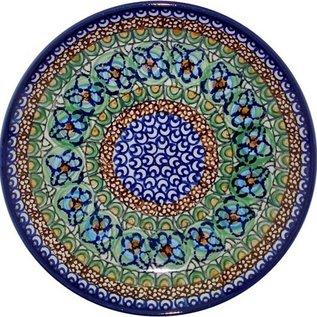 Ceramika Artystyczna Luncheon Plate Cottage Green Signature