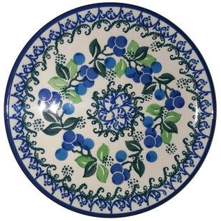 Ceramika Artystyczna Bread & Butter Plate Blueberry Vine