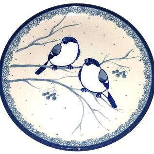 Ceramika Artystyczna Bread & Butter Plate Chickadee Signature
