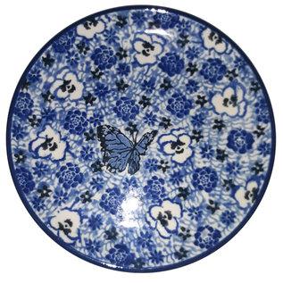Ceramika Artystyczna Bread & Butter Plate Chintz Viola Butterfly