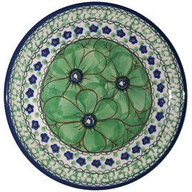 Ceramika Artystyczna Bread & Butter Plate Cosmos Green Signature 4