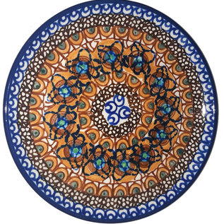 Ceramika Artystyczna Bread & Butter Plate Cottage Amber Signature 3.5